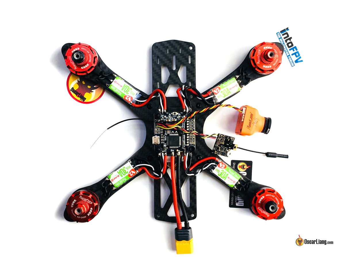 How To Build A Racing Drone Fpv Mini Quad Beginner Guide Oscar Liang Quadcopter Wiring Configuration I Recycled The Wires From Our Escs