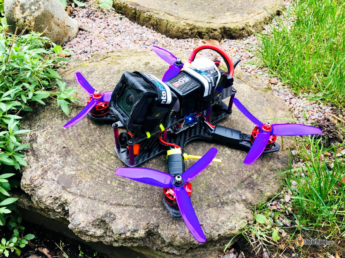 How To Build A Racing Drone Fpv Mini Quad Beginner Guide Oscar Liang Flying Hobby Sharing Agic Print Printing Circuit Boards With I Am Mounting The Gopro Session 5 On My Using This 3d Printed Mount