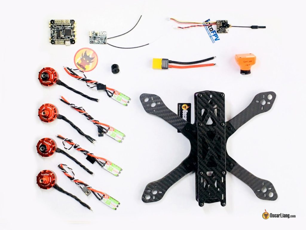 How To Build A Racing Drone Fpv Mini Quad Beginner Guide Oscar Liang Ppm Encoder Wiring Frame