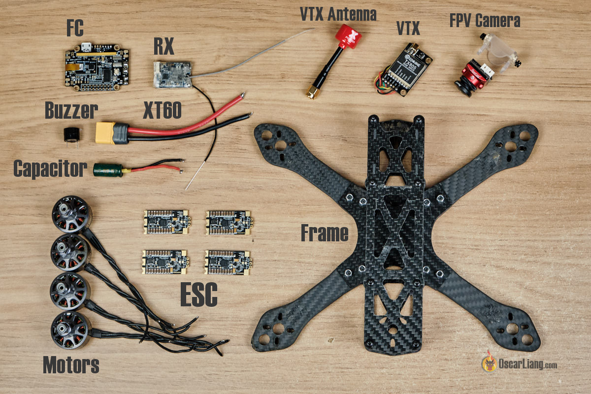 How to build a Racing Drone (FPV Mini Quad) Beginner Guide ... Racing Drone Wiring Diagram on