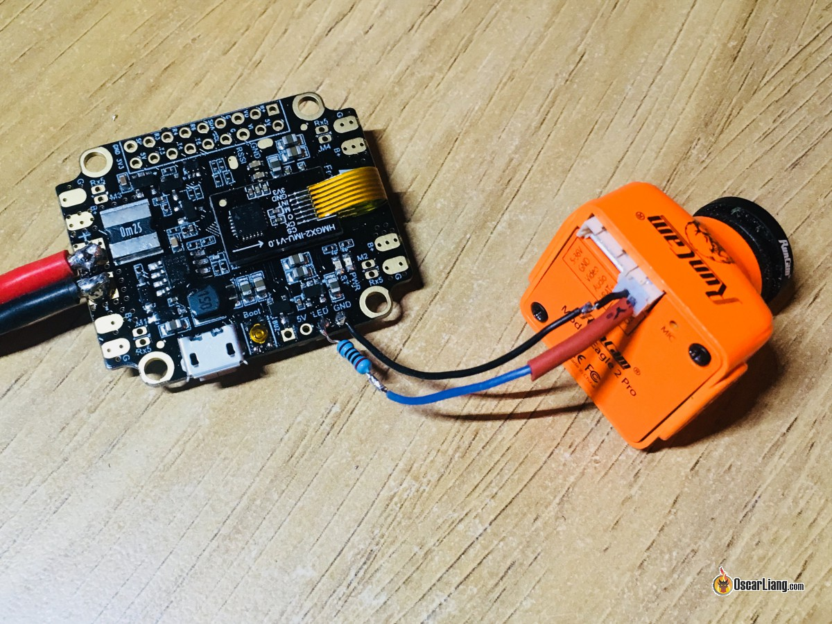 fpv camera control using osd pin and flight controller oscar liangcamera control osd pin connection to fc