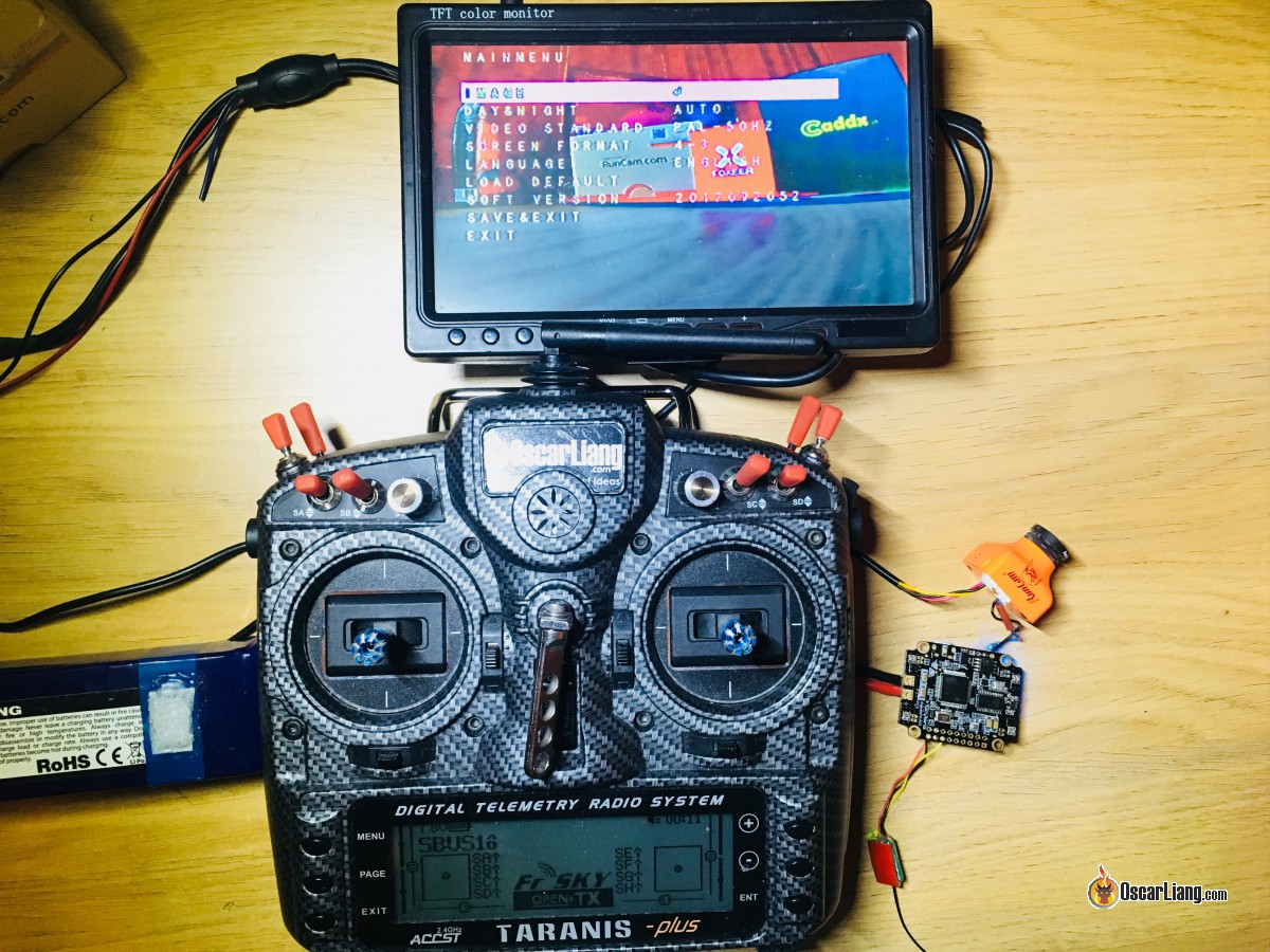 FPV Camera Control using OSD Pin and Flight Controller - Oscar Liang