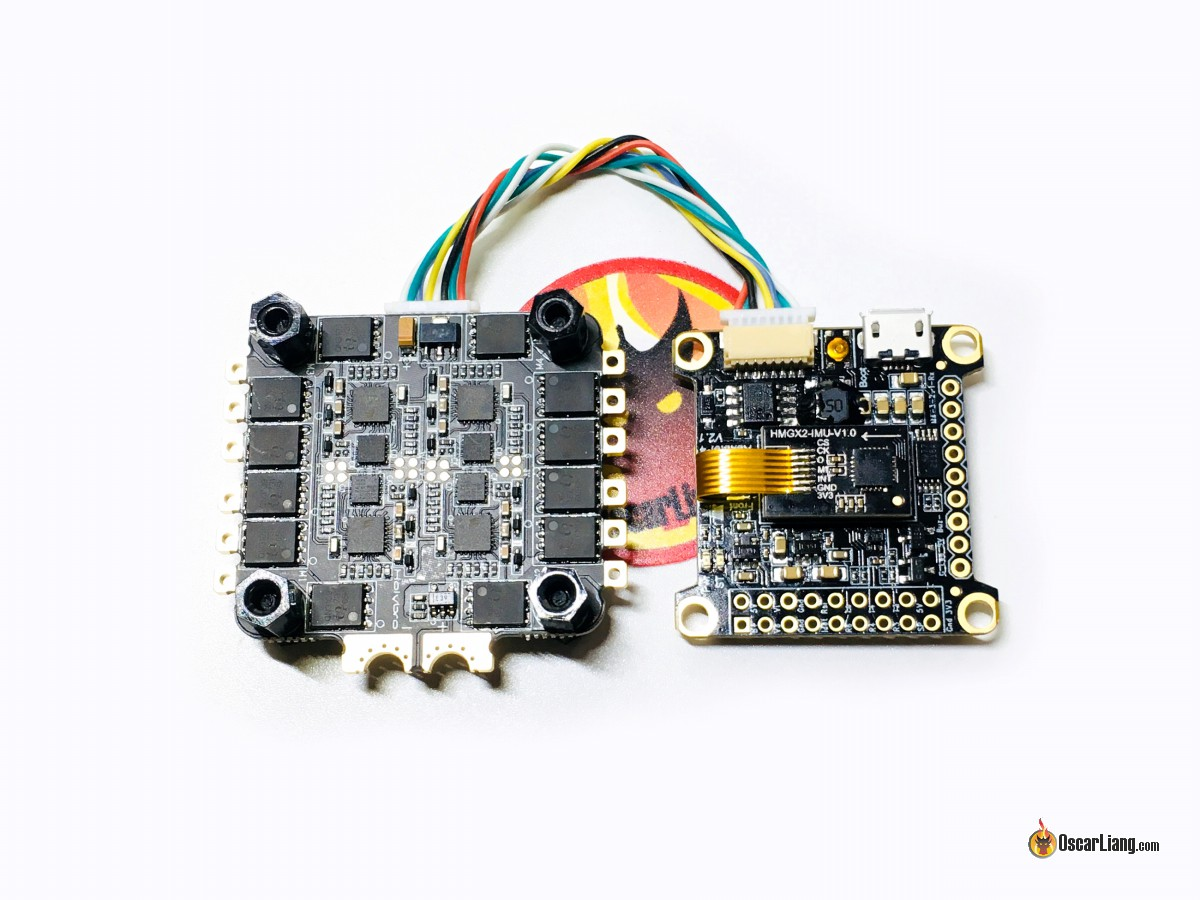 how to connect a 4 in 1 esc