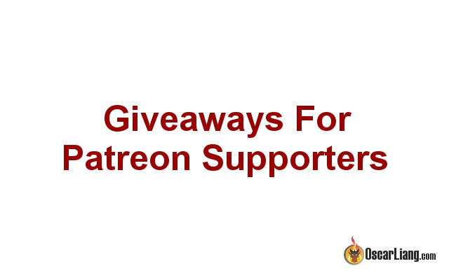 Assist me on Patreon & Giveaway