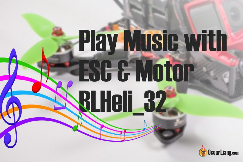 Play Music with ESC and Motors! | BLHeli_32 Custom Startup