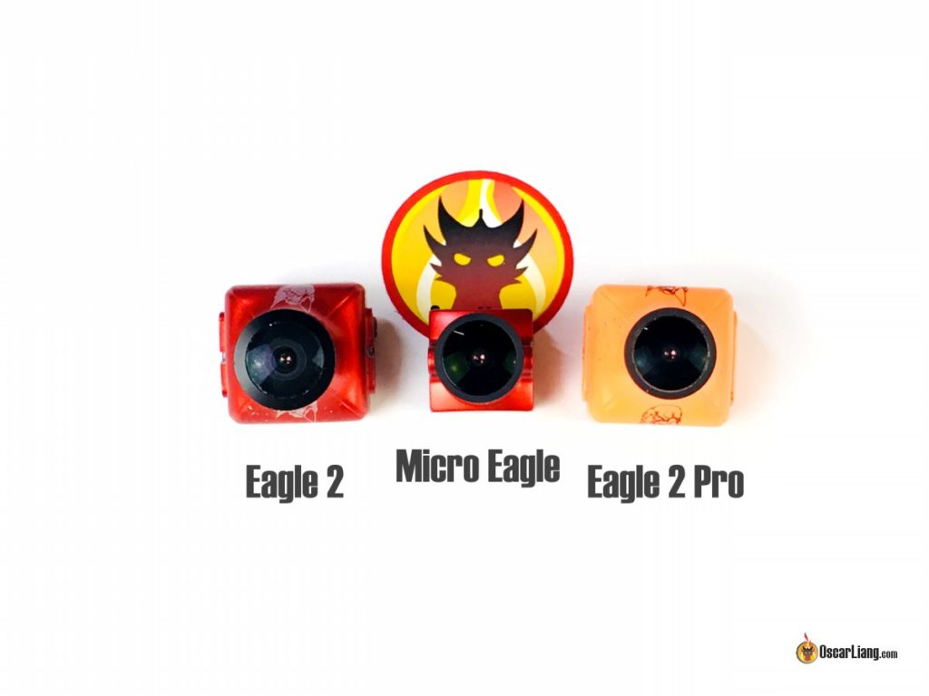 Micro Eagle Size comparison with standard size Eagle 2