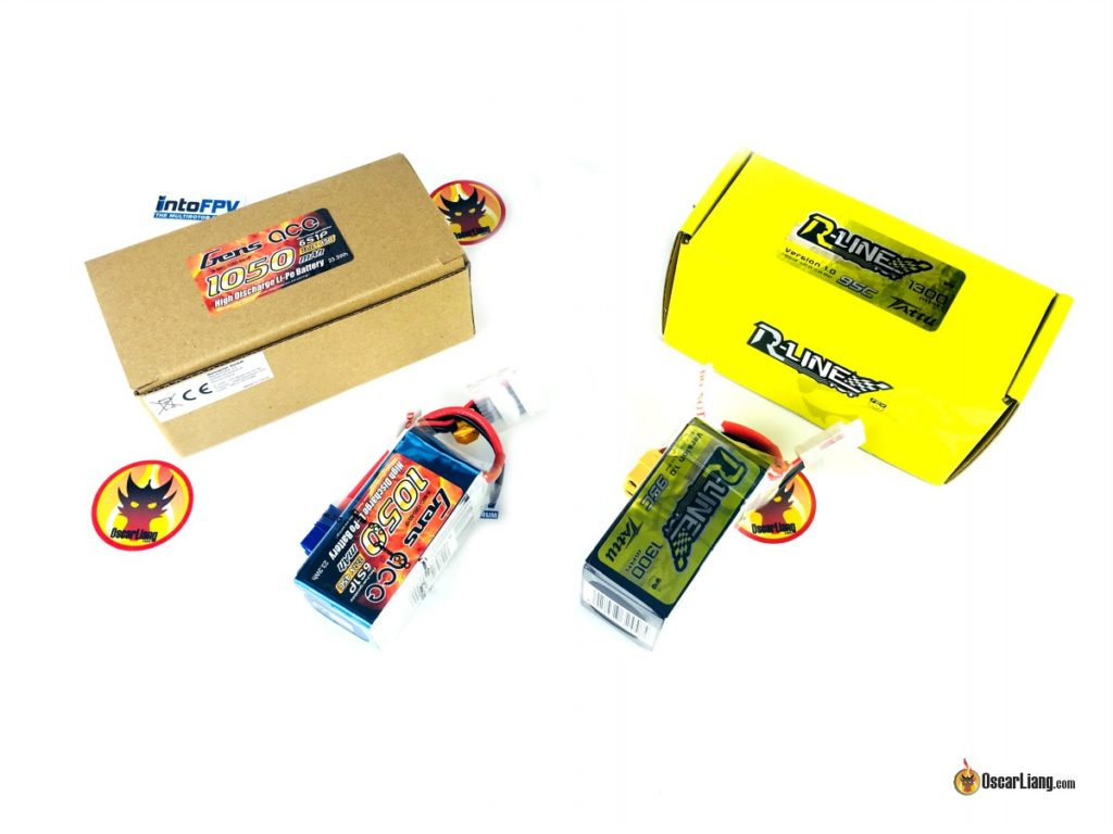 Gens Ace and Tattu 6S LiPo Battery