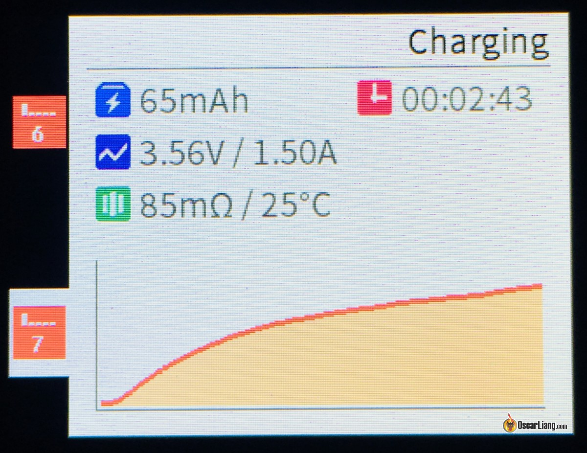 Review Isdt C4 18650 Battery Charger Oscar Liang Automatic Ni Mh Can Make By Yourself Another Nice Feature Of The Is Analysis
