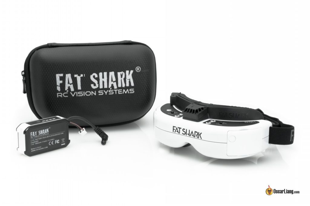Fatshark HDO FPV Goggles accessory package