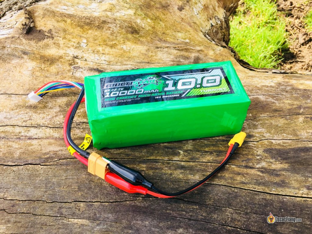 High capacity LiPo battery for field charging