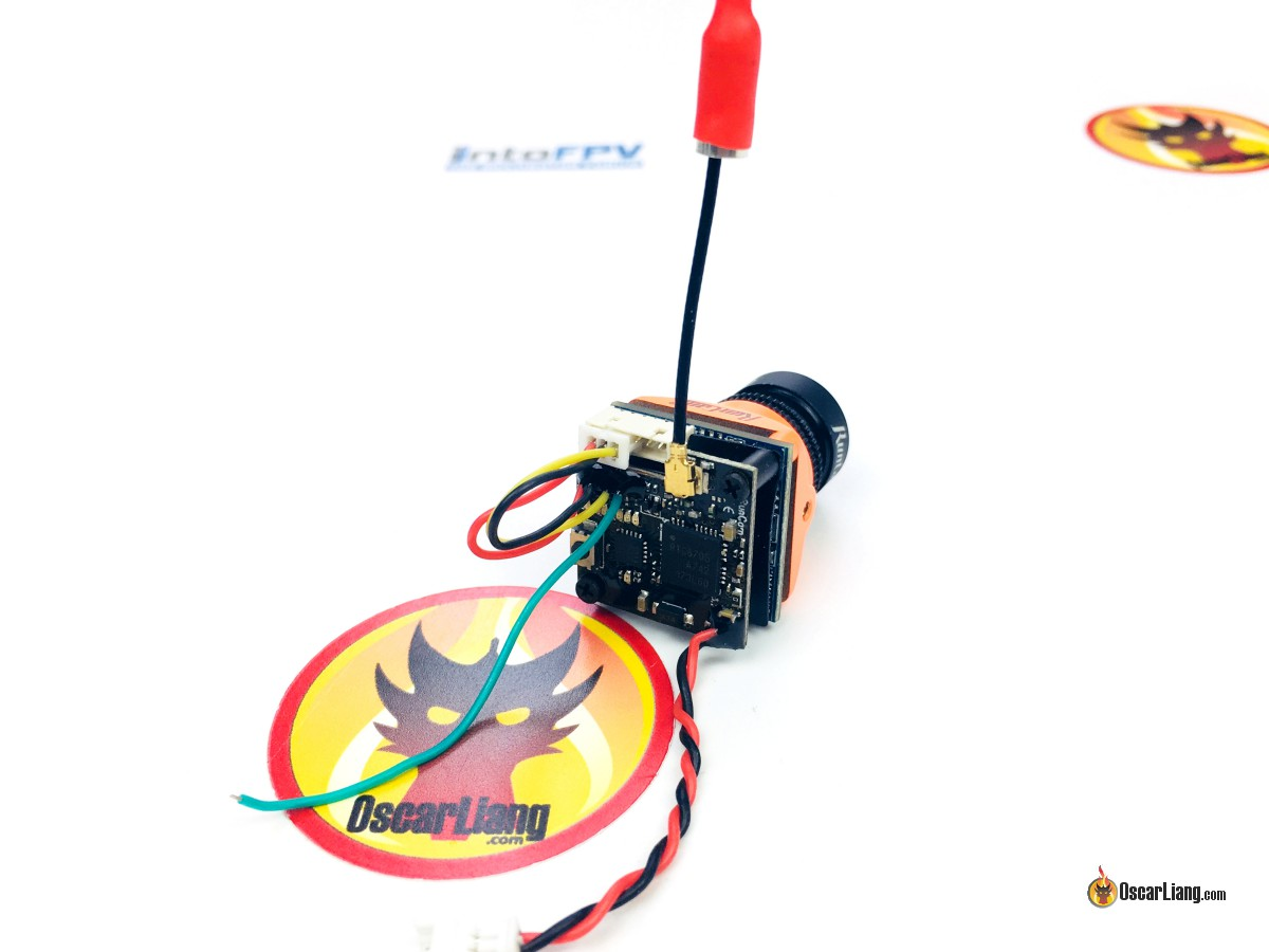 TX200U VTX on the back of the Micro Swift 3 FPV camera