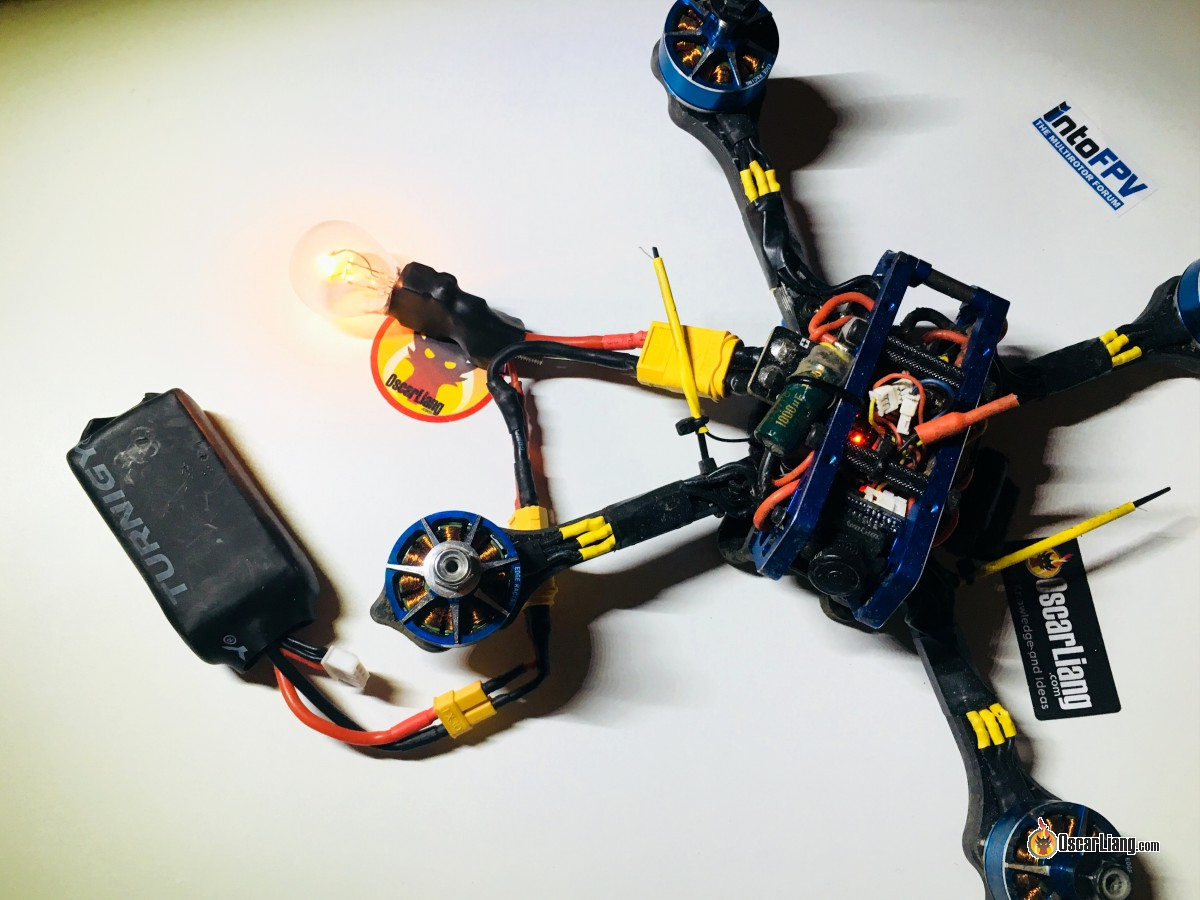 Build A Smoke Stopper For Mini Quad And Drones Oscar Liang Quadcopter Wiring Guide Note That The Smokestopper Is Not Bulletproof Bulb Only Limits Current Doesnt Stop It If You Wired Parts Incorrectly In Your
