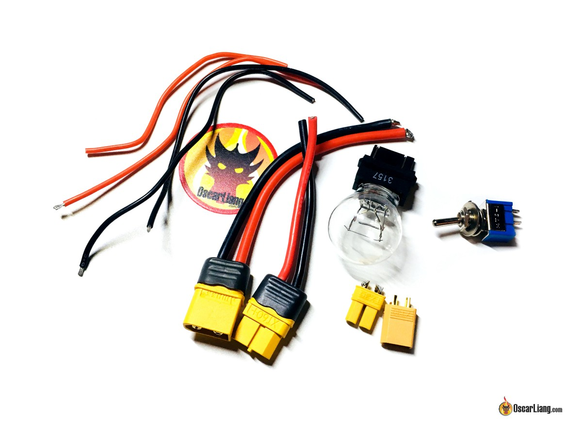 Build A Smoke Stopper For Mini Quad And Drones Oscar Liang 3157 Socket Wiring Diagram Do You See That The Bulb Has Two Power Rating Thats Because It Filaments Inside One Higher Current Other Lower