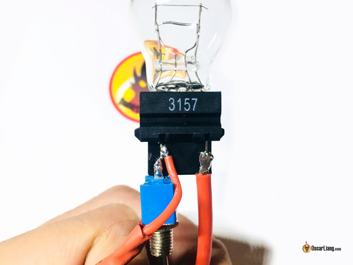 Build A Smoke Stopper For Mini Quad And Drones Oscar Liang Mamba Max Pro Wiring Diagram Now Solder The Switch Wires On Bulb According To