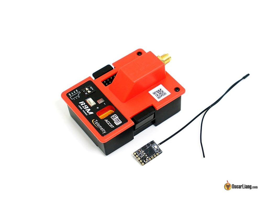 FrSky R9M 900MHz Long Range Transmitter Module With R9 Slim 900MHz Telemetry Rec