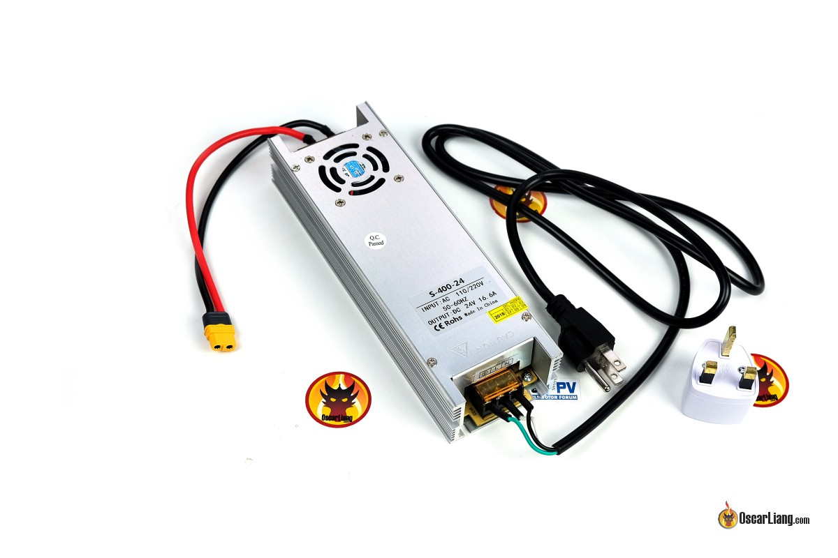 Review: Lantian 400W 24V Power Supply for LiPo Chargers (Q6