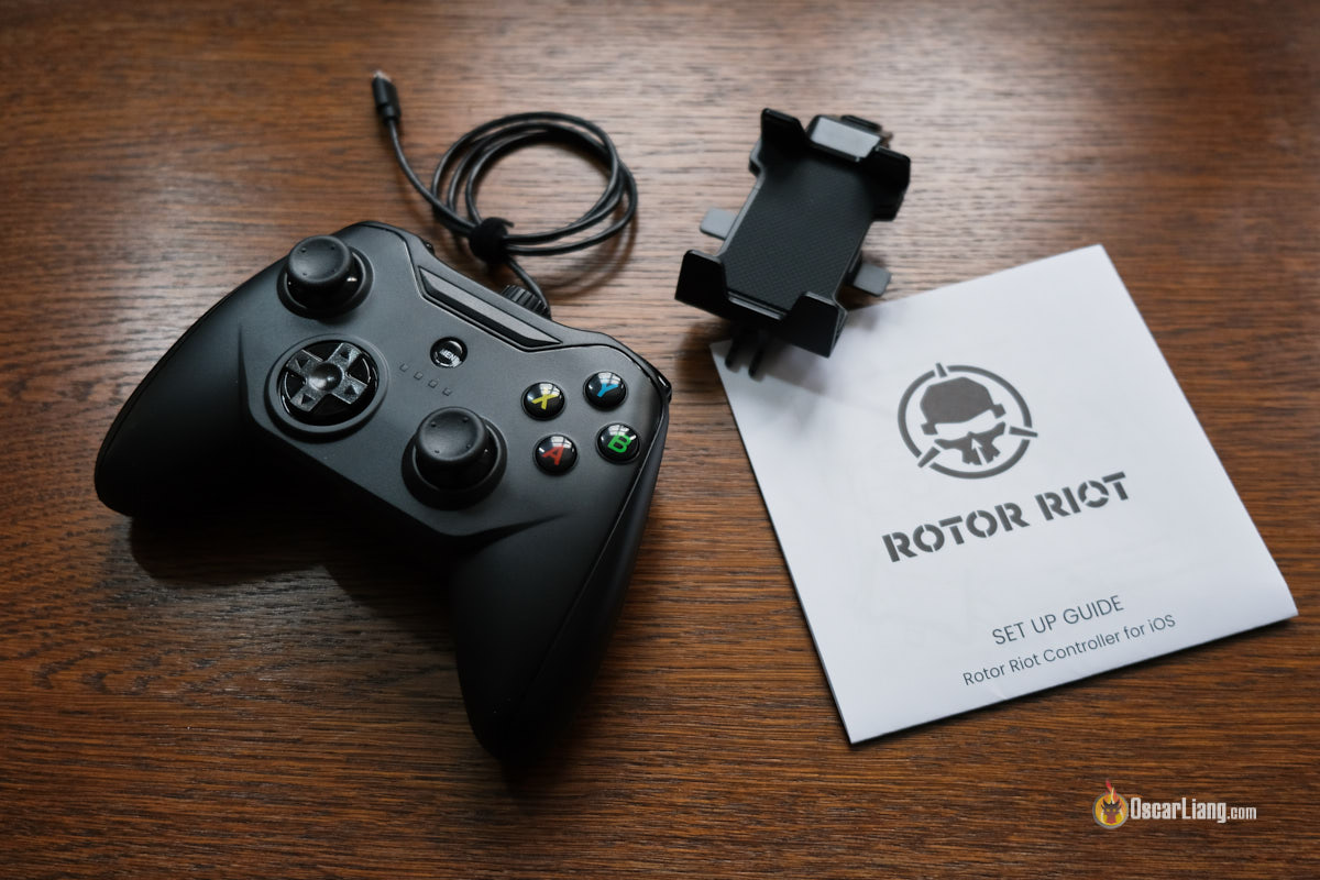 Review  Rotor Riot Drone  U0026 Gaming Controller