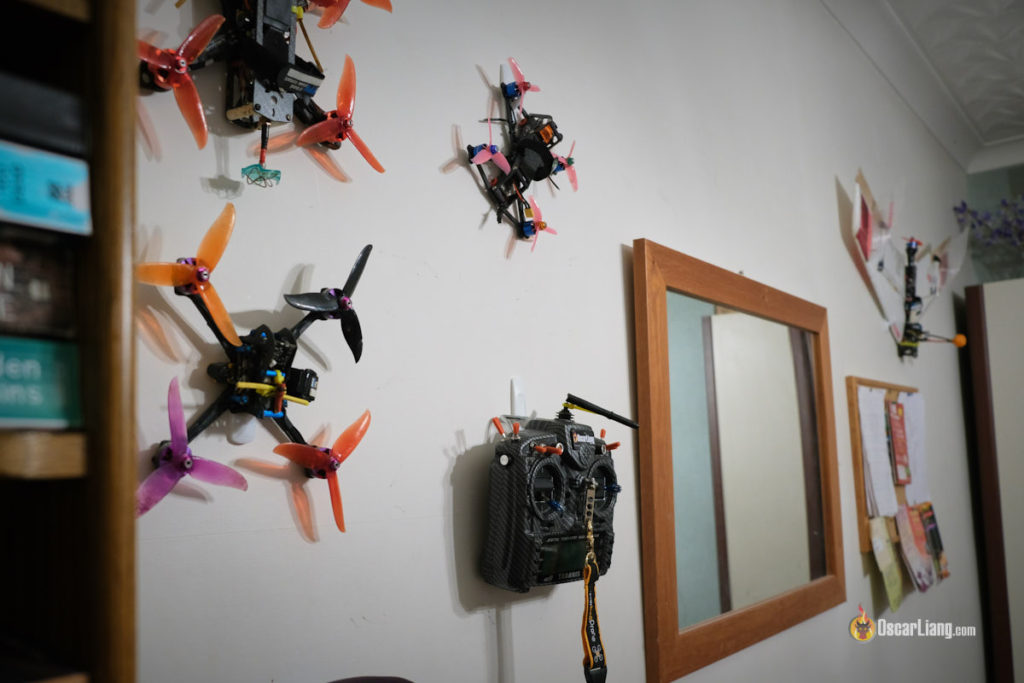 Hanging Quads And Fpv Wings On The Wall Oscar Liang