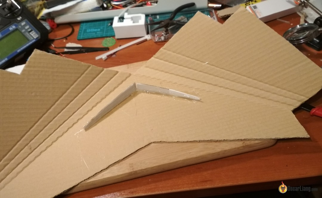 Building Tiny Fpv Wing Out Of Pizza Boxes Oscar Liang