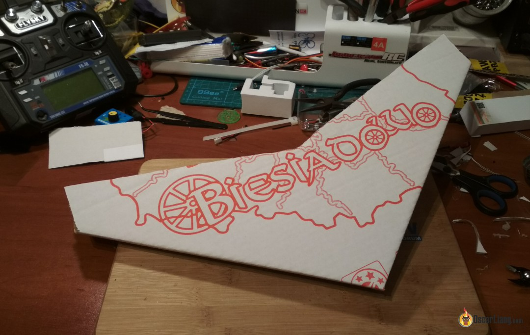 Building Tiny FPV Wing out of Pizza Boxes - Oscar Liang