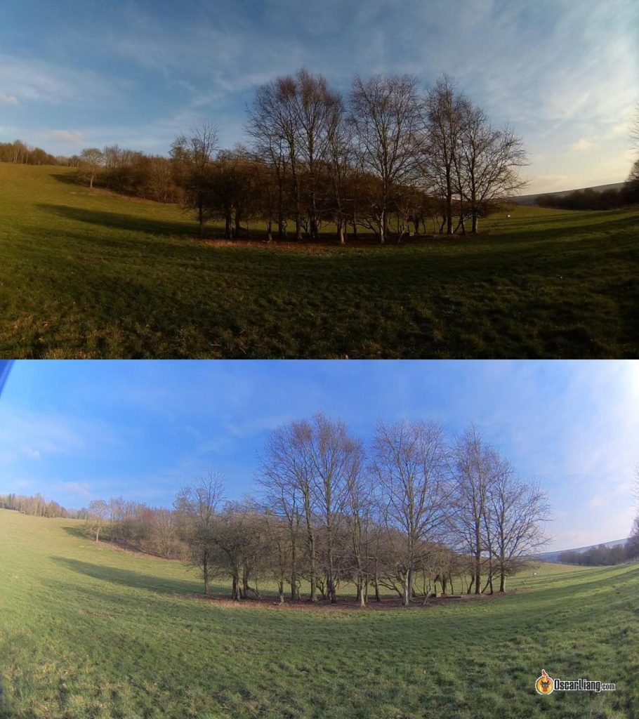 runcam 4 image quality compared to 3S