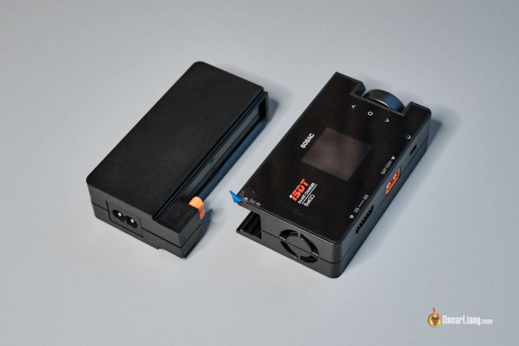 iSDT 608AC LiPo Charger detachable power supply