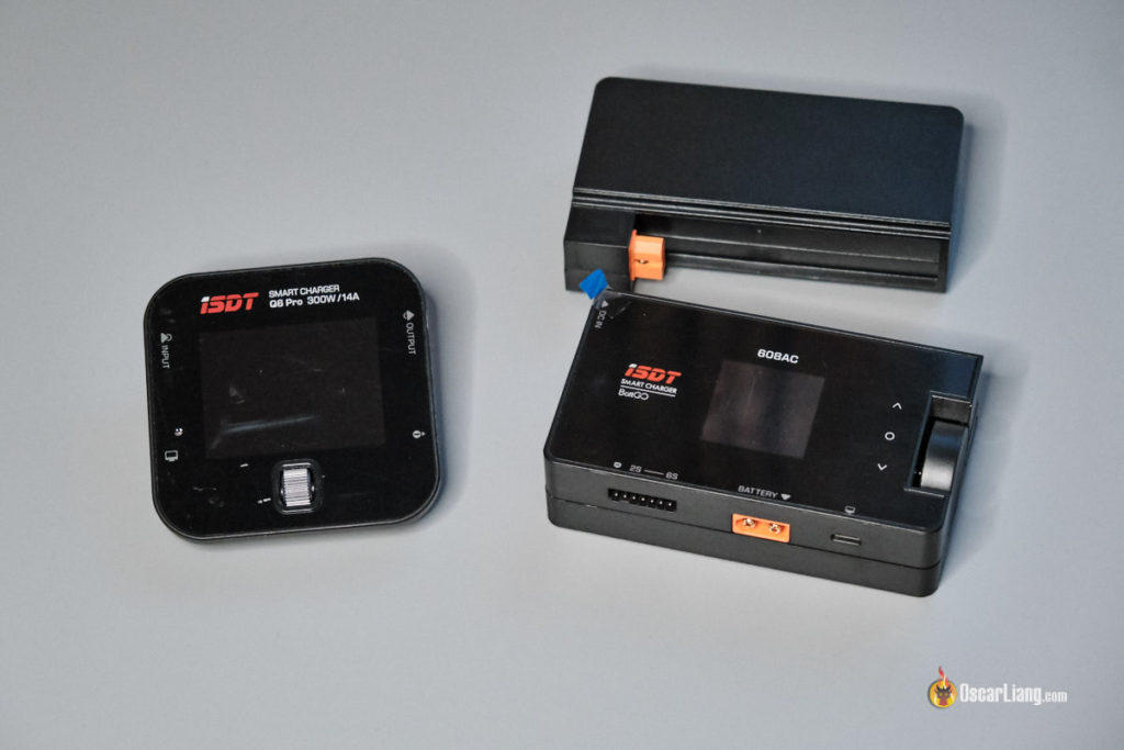 iSDT 608AC LiPo Charger compare to q6