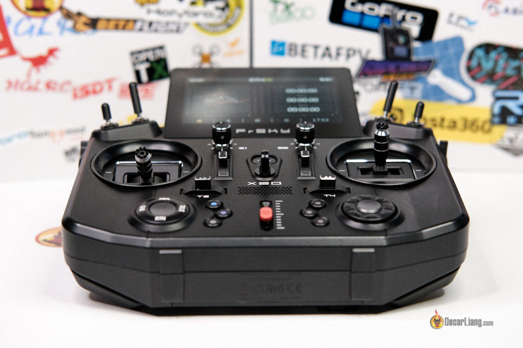 Frsky Tandem X20 Radio control gimbals switches buttons