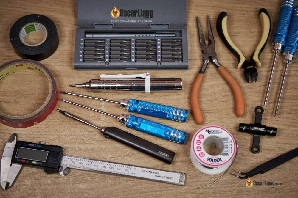 tools for building fpv drone