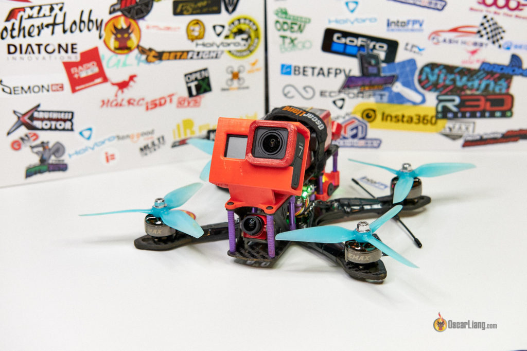 fpv drone with nice 3D printed parts