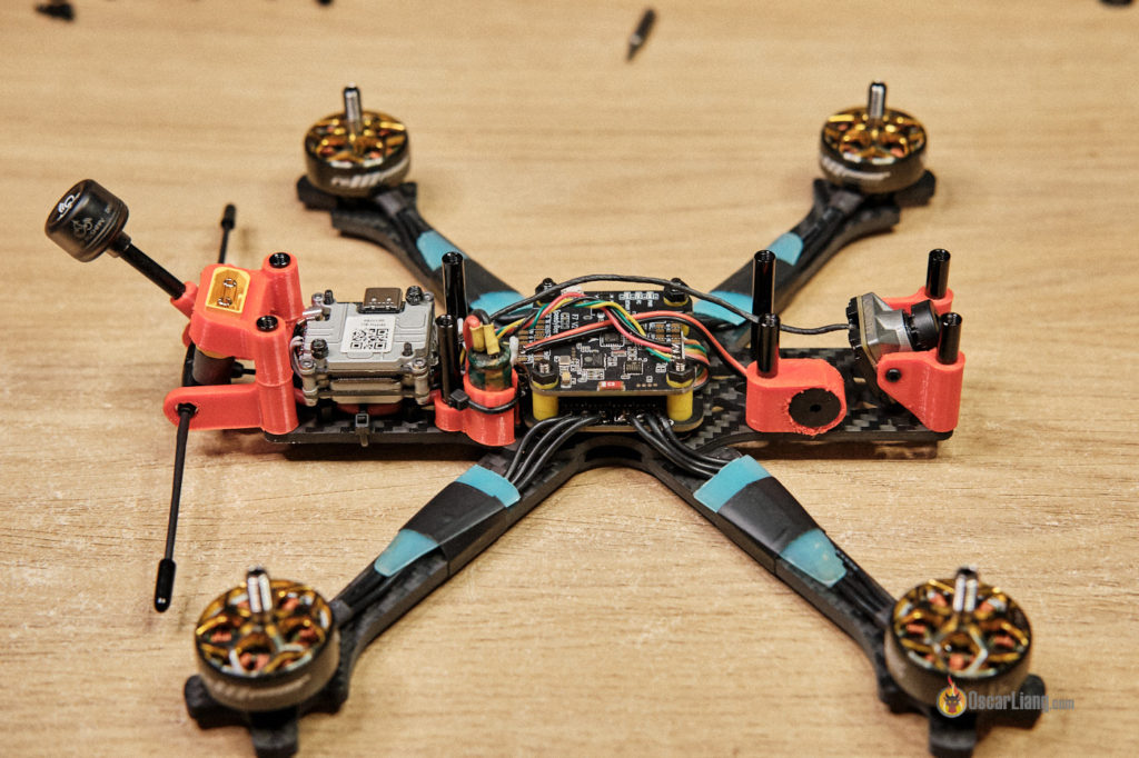 how to build fpv drone installing electronics fc stack