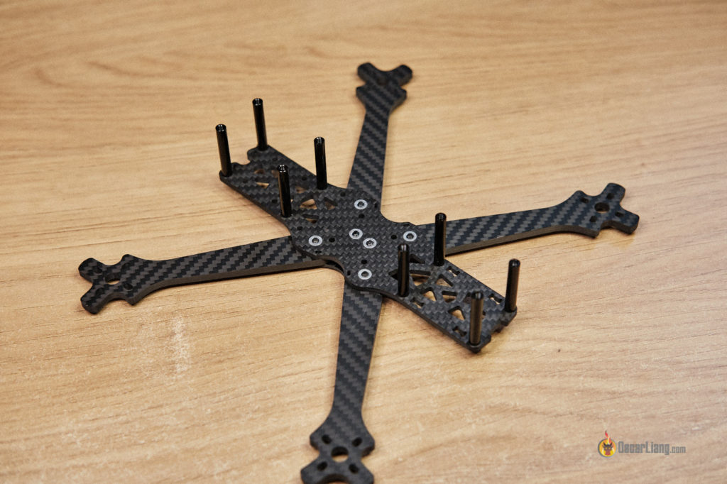 how to build fpv drone assemble frame