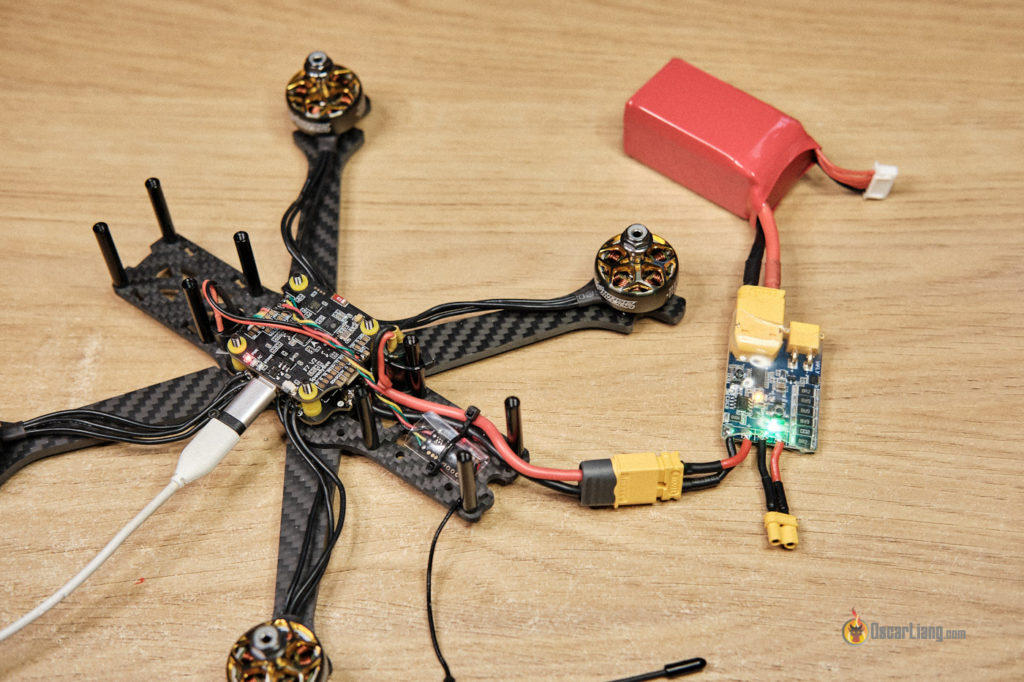 how to build fpv drone smoke stopper test
