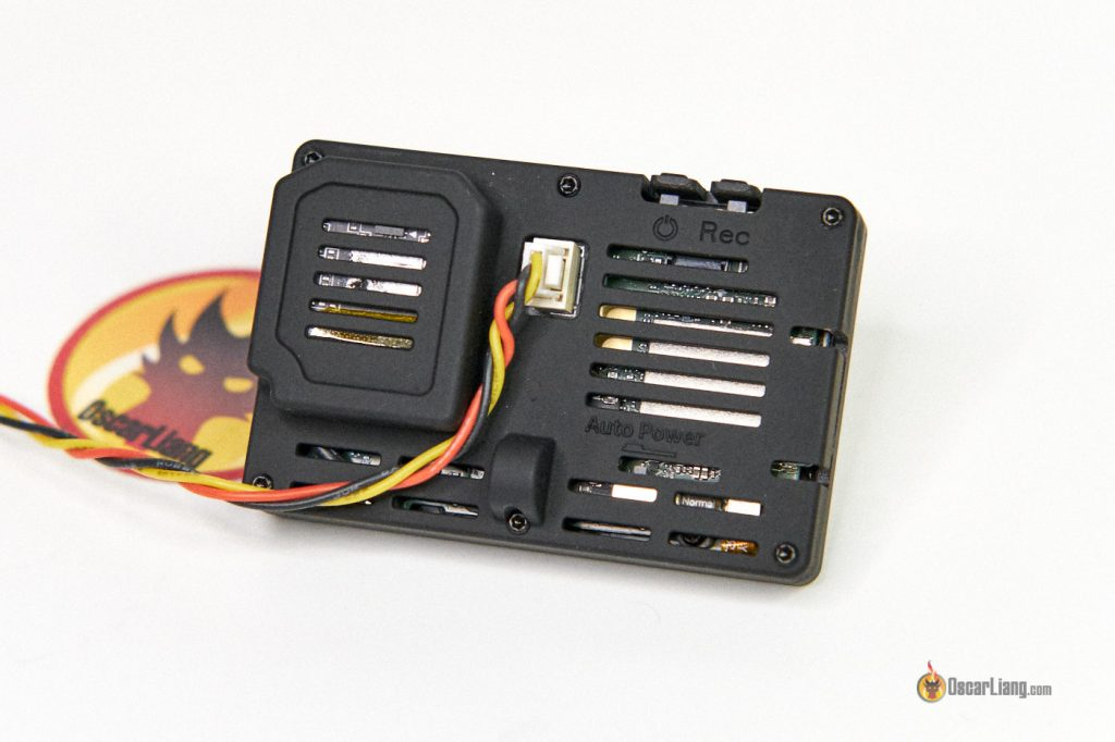 GEPRC Naked GoPro 8 Case power cable back