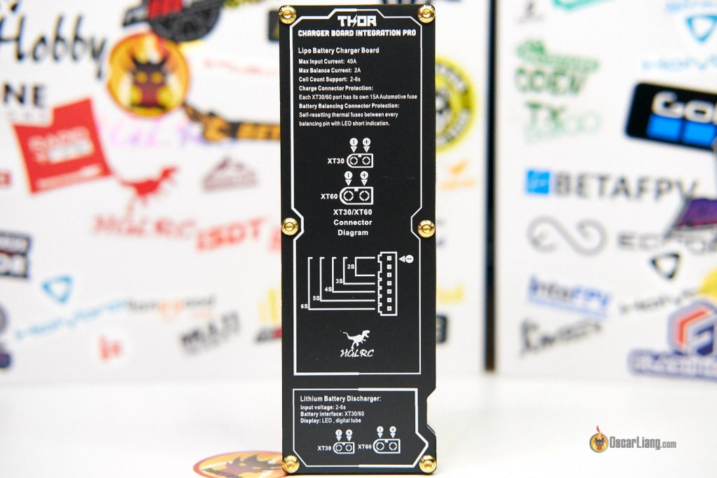 Hglrc Parallel Charging Board Thor Pro 40a Bottom