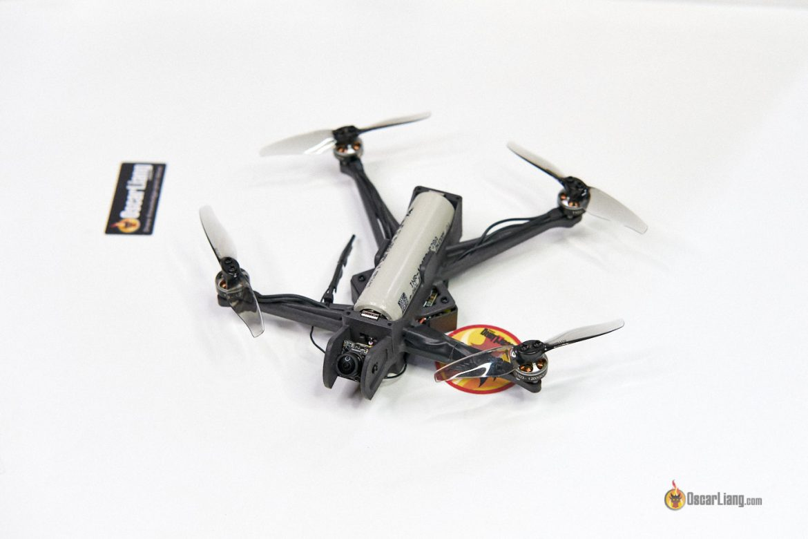Darwinfpv 18650 3inch Micro Fpv Drone With Battery Cell