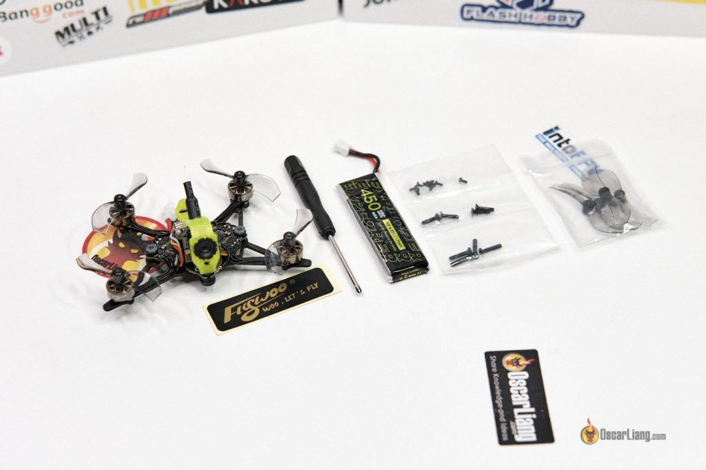 Flywoo Firefly 1s Nano Baby Quad Unbox Accessories