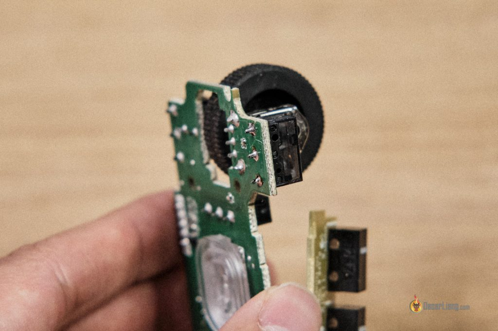 Fix Mouse Double Clicking Replace Switch Solder 3 Pins
